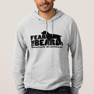 Befürchten Sie den Bart - Deutsch Drahthaar Hoodie