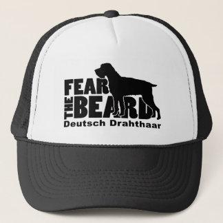 Befürchten Sie den Bart - Gang Deutsch Drahthaar Truckerkappe