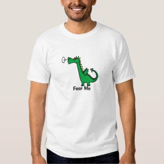 Befürchten Sie mich Cartoon-Drache T-Shirts