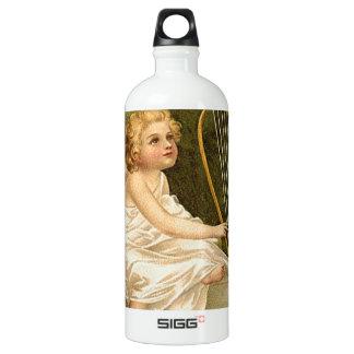 Begeisterung für das Leben Aluminiumwasserflasche