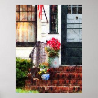 BEGINNEN UNTER $20 - Fall-Blumen in den Poster