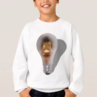 BeginningOfBrightIdea062710shadow Sweatshirt