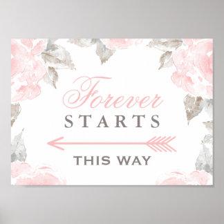 Beginnt für immer dieser Weisen-Zeichen| Poster
