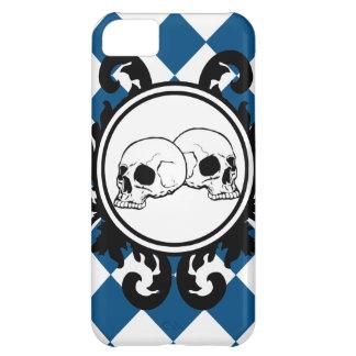 Begird Elfenbein (blauen) iPhone 5S Kasten iPhone 5C Hülle
