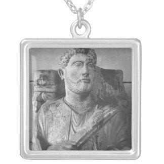 Begräbnisentlastung von Jarhai, vom Palmyra, Versilberte Kette
