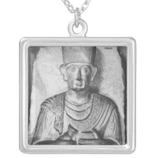 Begräbnisentlastung von Zabdale, vom Palmyra, Versilberte Kette