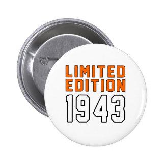 Begrenzte Ausgabe 72 Geburtstags-Entwürfe Runder Button 5,7 Cm