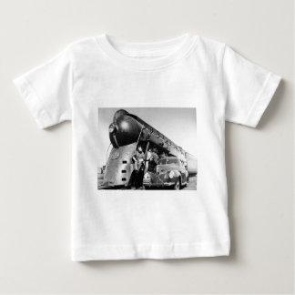 Begrenzte Vintage New- Yorkzentralschiene des 20. Baby T-shirt