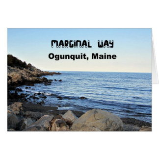 Begrenzte Weise, Ogunquit, Maine Karte