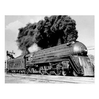 Begrenzter Zug des 20. Jahrhunderts Highball es! Postkarte