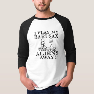 Behält Außerirdische-wegbariSax T-Shirt
