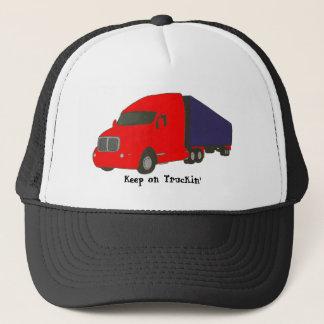 Behalten Sie auf Truckin', LKW auf Hüten Truckerkappe