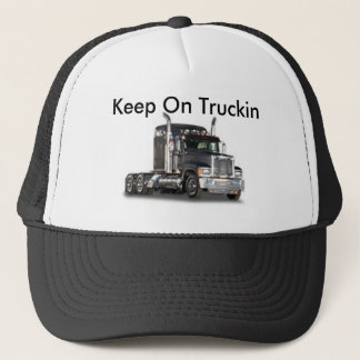 Behalten Sie auf Truckin Truckerkappe