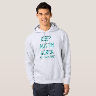 Behalten Sie Austin nüchternen grauen Hoodie