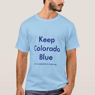 Behalten Sie Colorado-Blau-T - Shirt