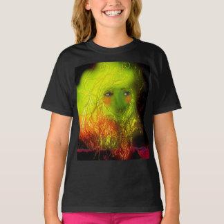Behalten Sie das Änderungsillustrations-Shirt T-Shirt