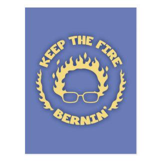 Behalten Sie das Feuer Bernin Postkarte
