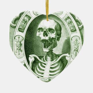 behalten Sie das Lächeln Ihr sind nicht tot noch Keramik Herz-Ornament