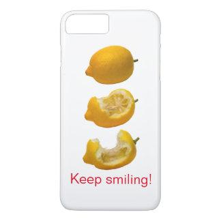 Behalten Sie das Lächeln iPhone 8 Plus/7 Plus Hülle