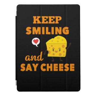 Behalten Sie das Lächeln und sagen Sie iPad Pro Cover
