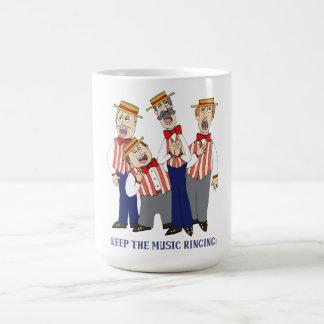 Behalten Sie das Musik-Klingeln Kaffeetasse