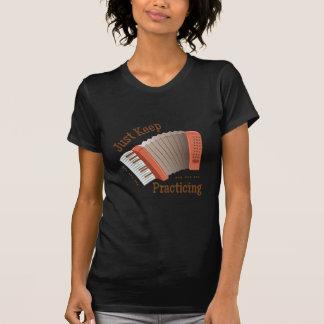 Behalten Sie das Üben T Shirt