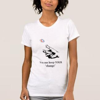 behalten Sie den Behälter IHRER    T-Shirt