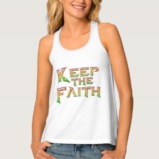 Behalten Sie den Glauben 2 Tanktop