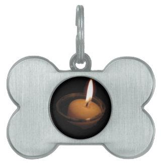 Behalten Sie die Flammen-brennende Kerze Tiermarke