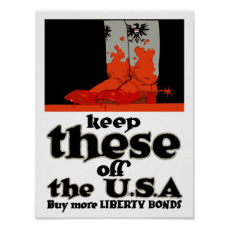 Behalten Sie diese vor den USA -- WWI Poster
