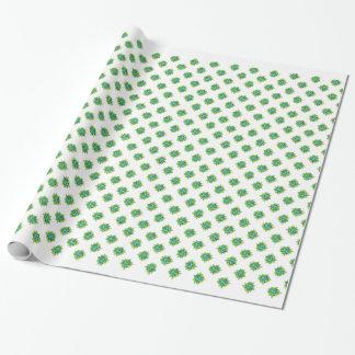 Behalten Sie es grün für Erdtag Geschenkpapier
