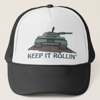 Behalten Sie es Rollin Truckerkappe