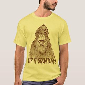 BEHALTEN Sie ES SQUATCHY - ProSquatch Kopf T-Shirt