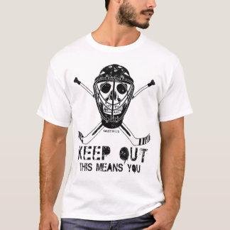 Behalten Sie heraus HockeyGoalie T-Shirt