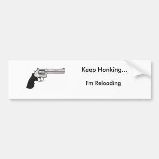 Behalten Sie Honking… Ich lade neu Autoaufkleber