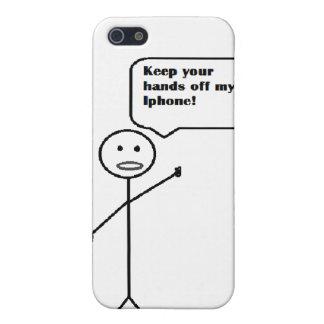 behalten Sie Ihre Hände weg von meinem iphone iPhone 5 Etuis