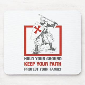 Behalten Sie Ihren Glauben, schützen Sie Ihre Mousepads