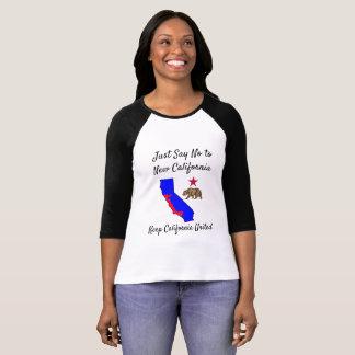 Behalten Sie Kalifornien gelöstes T-Shirt