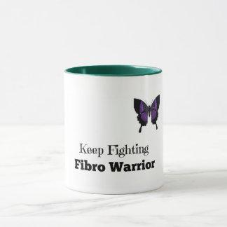 Behalten Sie kämpfende Faser Krieger-Kaffee-Tasse Tasse