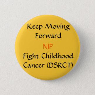 Behalten Sie Knopf vorwärts bewegen Runder Button 5,7 Cm