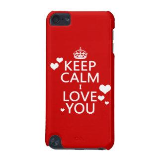 Behalten Sie Liebe der Ruhe-I Sie Farben iPod Touch 5G Hülle