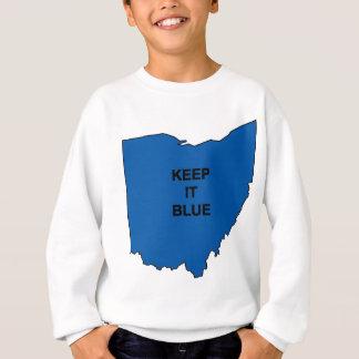Behalten Sie Ohio blau Sweatshirt