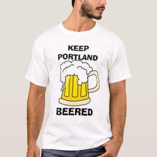 BEHALTEN SIE PORTLAND BEERED T-Shirt