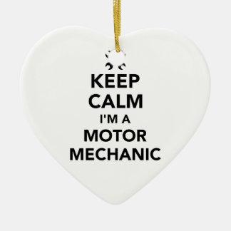 Behalten Sie Ruhe, die ich ein Bewegungsmechaniker Keramik Ornament