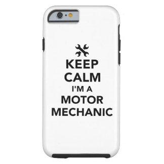 Behalten Sie Ruhe, die ich ein Bewegungsmechaniker Tough iPhone 6 Hülle