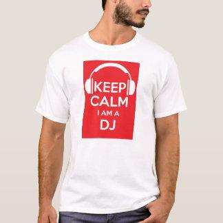 Behalten Sie Ruhe, die ich ein DJ-Geburtstags-T - T-Shirt