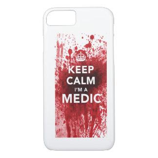 Behalten Sie Ruhe, die ich ein Mediziner iPhone 8/7 Hülle