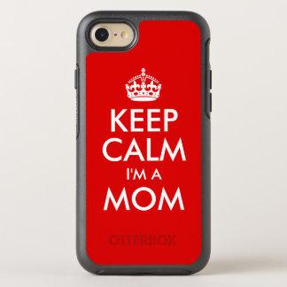 Behalten Sie Ruhe, die ich eine Mamma bin OtterBox Symmetry iPhone 8/7 Hülle