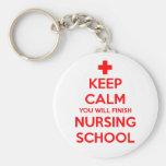 Behalten Sie Ruhe, die Sie Krankenpflege-Schule Ke Schlüsselbänder