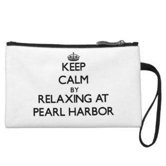 Behalten Sie Ruhe, indem Sie am Pearl Harbor